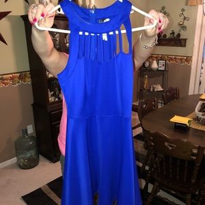 Trixxi blue casual dress